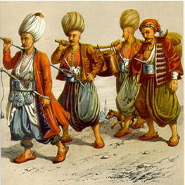 Ottoman-Empire-Janissaries